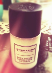Gilchrist and Soames Body Lotion