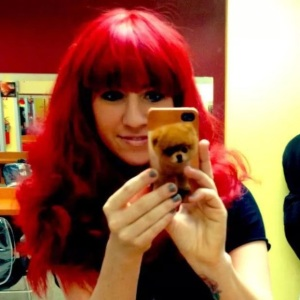 LOVE this red wig