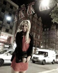 Blonde in London!