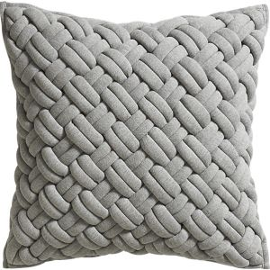 This textured throw pillow is a great addition to your sofa during the winter. Click the image to be taken to CB2's site!