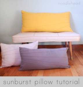 If you are feeling super creative, check out this DIY tutorial on how to make your own sunburst tutorial!